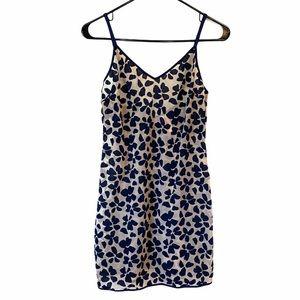 NWOT Victoria Secret Floral Velvet Mesh Slip Dress
